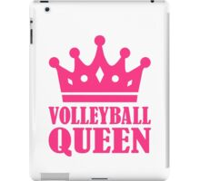 Volleyball queen crown iPad Case/Skin
