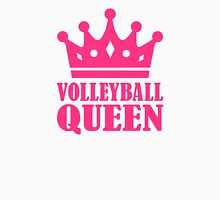 Volleyball queen crown Womens Fitted T-Shirt