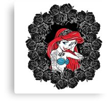 Not all Princesses can be Perfect Canvas Print