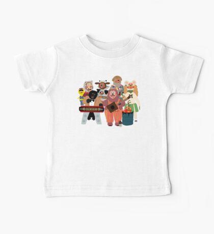 Rockafire- Showbiz Pizza Characters Baby Tee