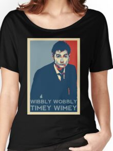 Wibbly Wobbly Timey Wimey Women's Relaxed Fit T-Shirt