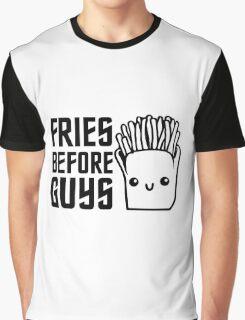 Fries Funny I love Food Junk  Fast Food Fat  Graphic T-Shirt