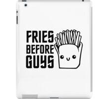 Fries Funny I love Food Junk  Fast Food Fat  iPad Case/Skin