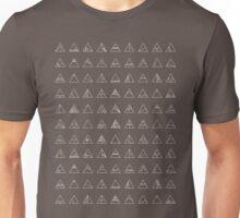 Let's Tesselate - White Unisex T-Shirt