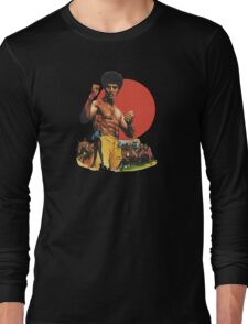 Afro Kung Fu  Long Sleeve T-Shirt
