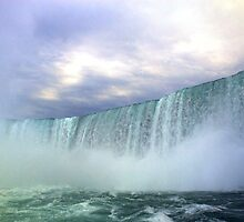 Majestic Power of Niagra. by Billlee