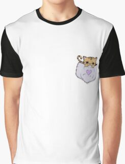 The Pocket Kitty Graphic T-Shirt