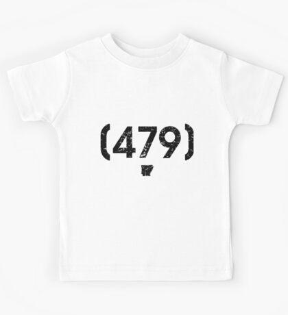 Area Code 479 Arkansas Kids Tee