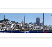 San Francisco Panorama Sticker