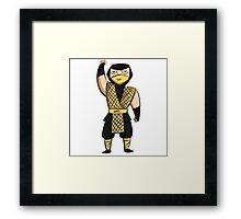 Scorpion (MK1) Framed Print
