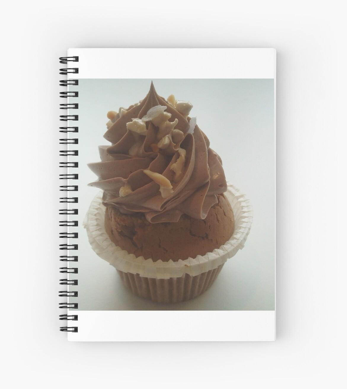 Nutella and praline cupcake by Caroline Clarkson