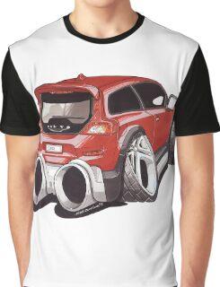 Volvo C30 Caricature Graphic T-Shirt