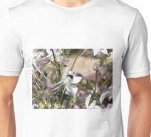 Bumble bee on pretty flower Unisex T-Shirt