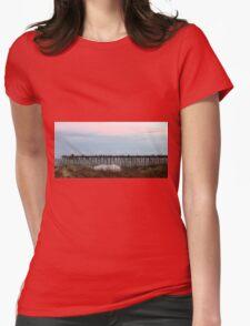 Kure Beach Pier Womens Fitted T-Shirt