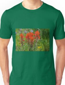 Indian Paint Brush Unisex T-Shirt