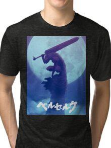 Berserk Blue Tri-blend T-Shirt