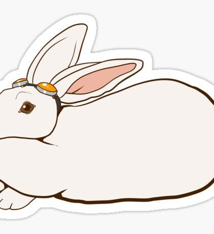 Goggles Bunny Sticker