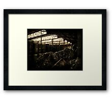 The Old Factory Framed Print