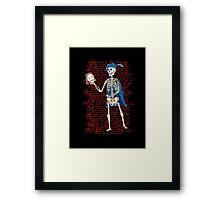Alas, poor Shakespeare! Framed Print