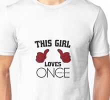 This Girl Loves Once Upon A Time Unisex T-Shirt