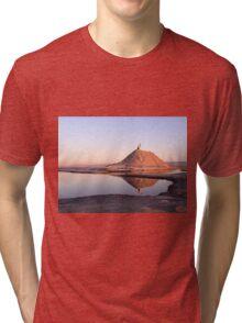 Tunisian Salt Lakes Tri-blend T-Shirt