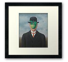 The Great War - René Magritte Framed Print