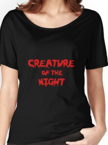 Creature of the Night Women's Relaxed Fit T-Shirt