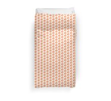 Peach Duvet Cover