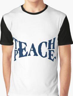 TEACH PEACE VINTAGE Graphic T-Shirt