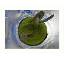 Beltany Stone Circle, Donegal Art Print