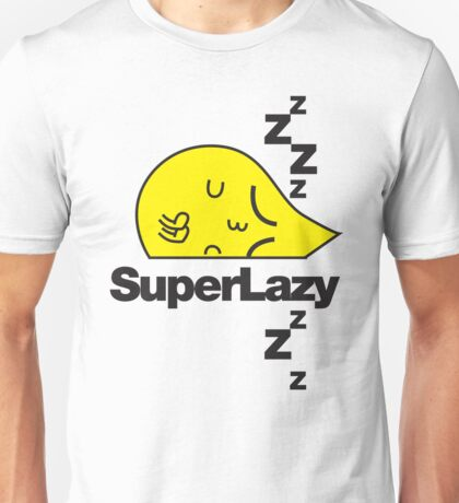 SuperLazy - Yellow (1) Unisex T-Shirt