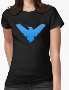 Nightwing Symbol Womens Fitted T-Shirt