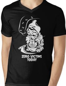 zero victims today grim reaper death are take vacation in summer Mens V-Neck T-Shirt