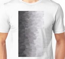Grey Scale Smudge Unisex T-Shirt