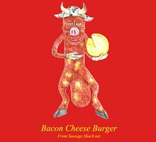 Rob Gamble's and Shawn Mahoney's Bacon Cheese Burger Sausage copy right 2015 Unisex T-Shirt