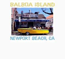 Balboa Island Boat Car- Newport Beach Unisex T-Shirt