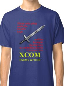 XCOM Enemy Within Opening Quote Classic T-Shirt