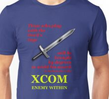XCOM Enemy Within Opening Quote Unisex T-Shirt