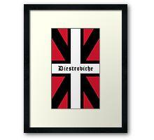Diestroviche Flag Framed Print
