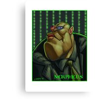Morpheus red or blue Canvas Print