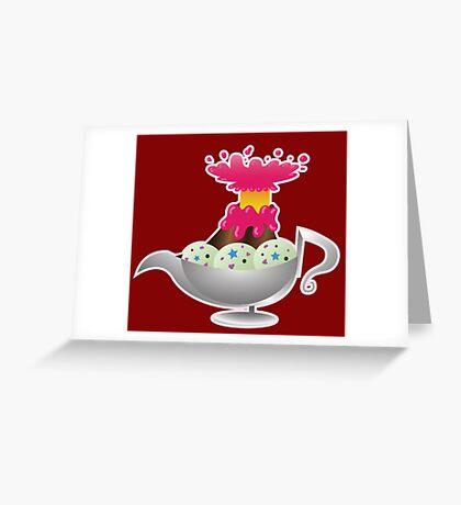 Bueno Volcano KH Greeting Card