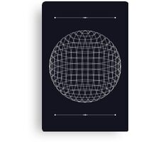 The Space Between the Lines Canvas Print