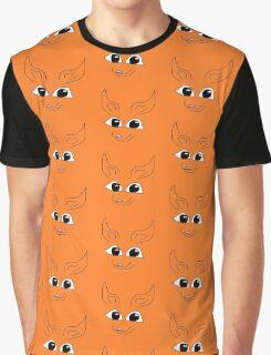 Cute Fox Graphic T-Shirt