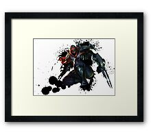 Zed - League of Legends Framed Print