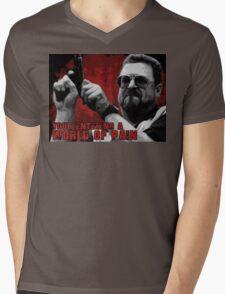 World of Pain Mens V-Neck T-Shirt