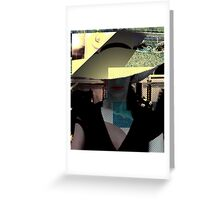 Who's That Girl? Fashion Hat Greeting Card