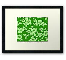 Green Hawaiian Framed Print