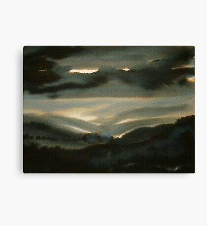 Through the Glen Canvas Print