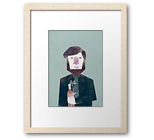First date Framed Print