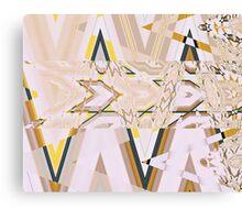 Geometry Glitch n.7 Canvas Print